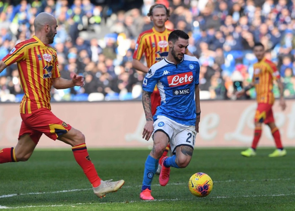Napoli vs Lecce Highlights, 09/02/2020