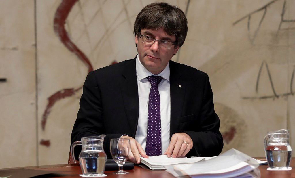 Thủ hiến Catalonia Carles Puigdemont  /// Reuters