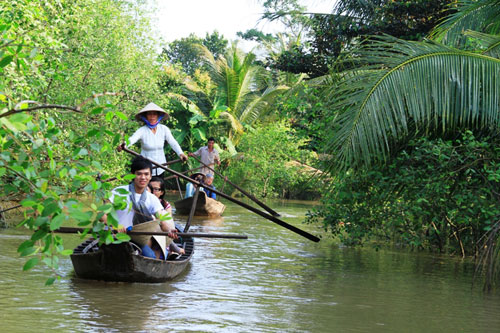 Points of Interest in Mekong Delta