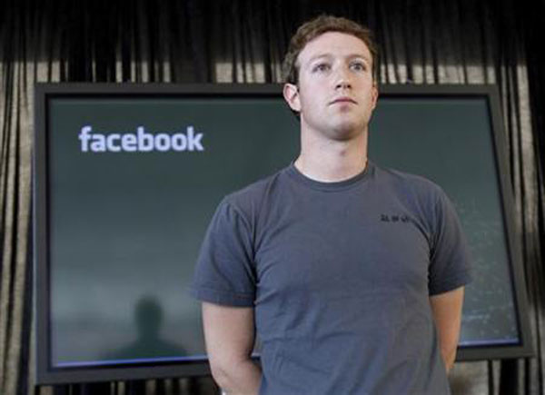 CEO Facebook Mark Zuckerberg tại San Francisco